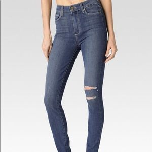 Paige Margot in Ultra Skinny in Brooks destructed